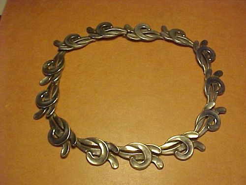 VINTAGE MARGOT DE TAXCO STERLING NECKLACE