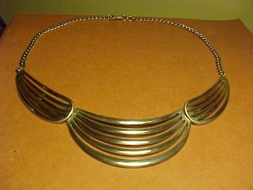 VINTAGE NAVAJO LOWELL DRAPER WHITE HOGAN SHOP STERLING NECKLACE