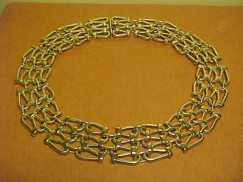 VINTAGE STERLING TANE MEXICO NECKLACE