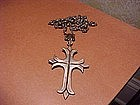 RARE HECTOR AGUILAR CROSS AND ROSARY