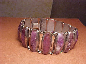 ENRIQUE LEDESMA FACETED AMETHYST BRACELET