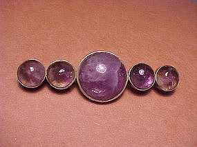 RARE WILLIAM SPRATLING AMETHYST PIN 1940
