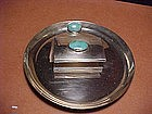 FRANK PATANIA SR. STERLING MATCH HOLDER AND TRAY