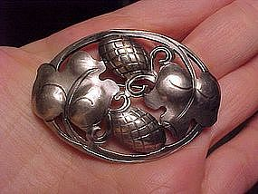 KALO ARTS & CRAFTS STERLING PIN