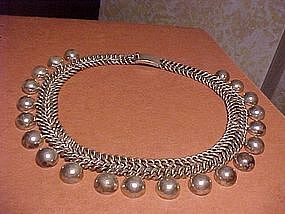 HORACIO PARRA STERLING NECKLACE
