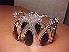 ANTONIO PINEDA SILVER AND ONYX BRACELET