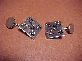 WILLIAM SPRATLING STERLING CUFF LINKS