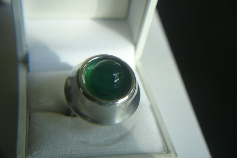 N.E. From Denmark Danish Sterling Modernist Ring