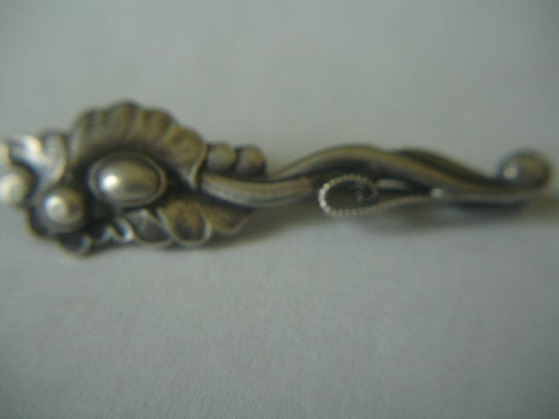 Georg Jensen Denmark Sterling Silver Pin #183