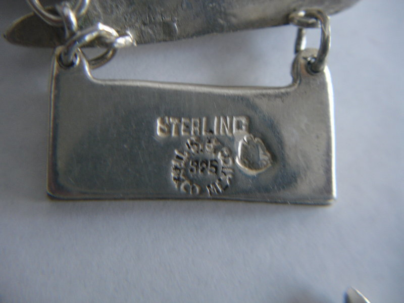 Vintage Taxco Mexican Sterling Silver Parure
