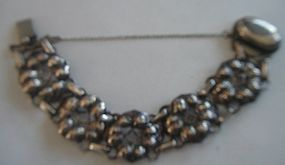 Kalo Arts & Crafts Chicago Sterling Silver Bracelet