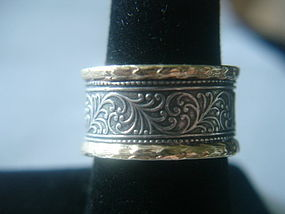 Sundance Catalog Harmony Ring Sterling Silver 14k $495