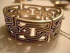 Pedro Castillo Mexican Sterling Silver Bracelet Taxco