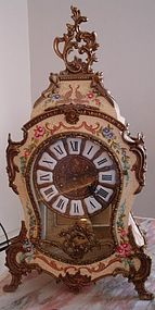 French Ande Boule Style Table Clock Made in Italy