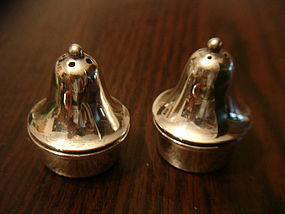 Carl Poul Petersen Canada Sterling Silver Salt and Pepper Shakers