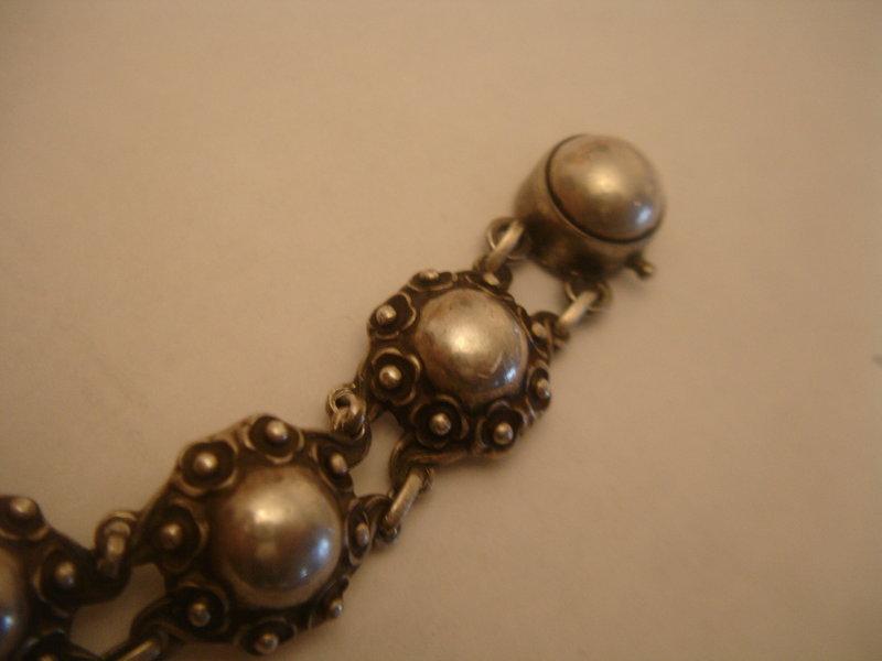 Denmark Sterling Silver Eivind Knud Peterson Bracelet