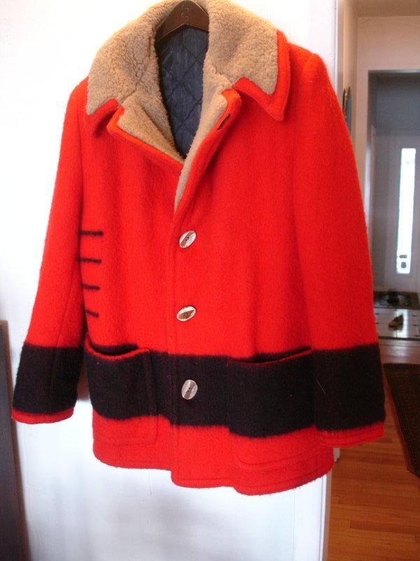 Vintage Hudson's Bay Marlboro Man Coat Jacket Size 40