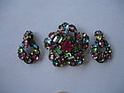 Fabulous Book Quality HOLLYCRAFT Pin and Earrings Set