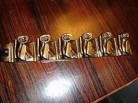 Weckstrom LAPPONIA Finland Bronze Bracelet Maginot