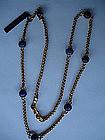 CHANEL Vintage Poured Glass Necklace Belt