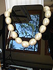 Large House of  GRIPOIX Paris Pearl Necklace