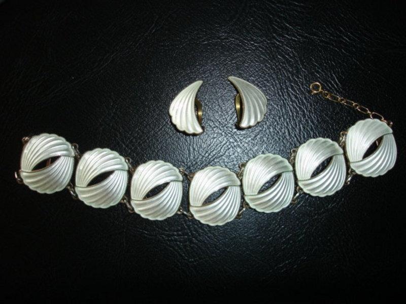 Norway Sterling Silver Enamel Bracelet Set - Elvik