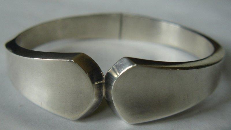Danish Sterling Silver Bracelet ~  Moltke Denmark ~