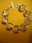 NE From Denmark Modernist Sterling Silver Bracelet