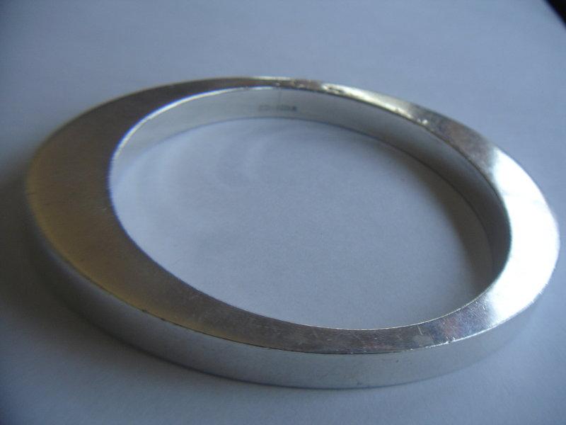 Modernist Sterling Scottish Katy Hackney Bracelet