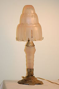 Sabino French Art Deco 'Waterfall' Lamp