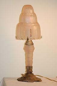 Sabino French Art Deco 'Waterfall' Lamp