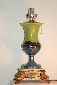 Loetz Ausfuhrung 226 Glass 'Papillon' Lamp C:1920