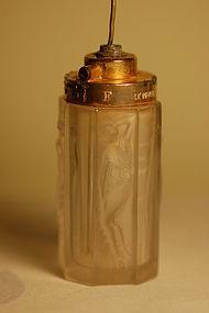 Rene Lalique perfume atomizer Le Parisien C:1925