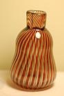 Orrefors glass 'Ariel' vase by Edvin Ohrstrom C:1955