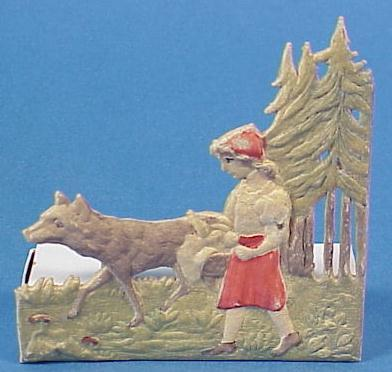 Red Riding Hood Candy Container--Germany