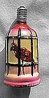 Bird In Cage Christmas Light