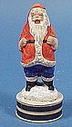 Vintage Santa Claus Christmas Candy Container