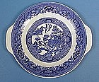 "Royal China ""Willow Ware"" Handled Plate"