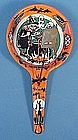 Vintage Halloween Tin Litho Pan Noisemaker