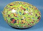 German Dresden Easter Egg Candy Container