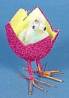 Chenille Chick in Easter Egg Decoration