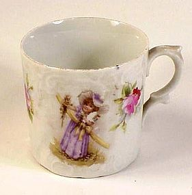 Victorian Porcelain Child's Cup