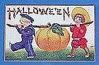1908 Halloween Jack O'Lantern Post Card