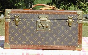 Louis Vuitton Train Case w/Mirror - Never Used