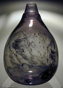 Eva Englund Pukeberg Glass Vase - MONUMENTAL!