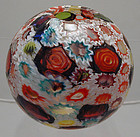 Fratelli Toso Cattedrale Murrine Rose Bowl