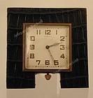 Tiffany 8-day Travel Clock Alligator frame