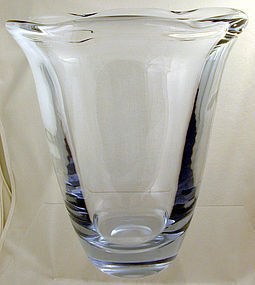 Strombergshyttan Large Wave-Edge Vase