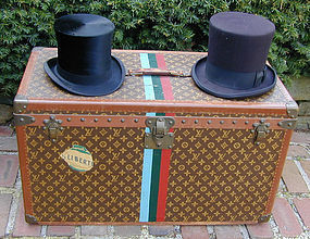 Louis Vuitton Top Hat Trunk