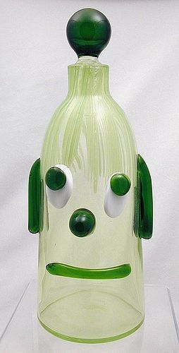 Fratelli Toso Murano Sad Dog Decanter